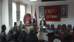 Fotoğraf //CHPden Zeytinburnu Belediye Başkanı hakkında suç duyurusu