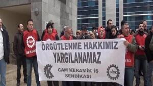115 işçiye İş ve Çalışma Hürriyetinin İhlali davası