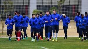 Antalyaspor, Osmanlıspor hazırlıklarına başladı
