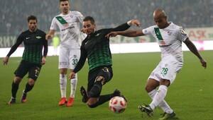 Bursaspor: 1 - Akhisar Belediyespor: 4