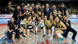 Kupa Voley Kadınlarda şampiyon Fenerbahçe
