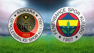 Gençlerbirliği Fenerbahçe Türkiye Kupası maçı saat kaçta hangi kanalda canlı yayınlanacak - İşte Advocaatın ilk 11i