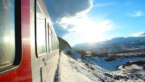 Karlar içinde huzur dolu yolculuk: Doğu Ekspresi / Kars