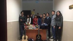 KTÜ'lü öğrencilerden anlamlı proje: Bir El Bin Umut