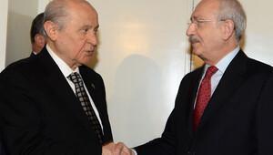 Kılıçdaroğlu ile Bahçeliden görüşme sonrası açıklama