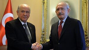 Kılıçdaroğlu ile Bahçeli buluştu