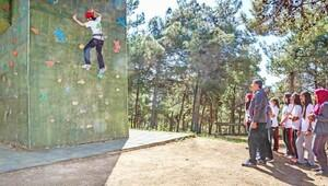 Gaziantepte, öğrencilere spor etkinlikleri