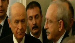 45 dakikalık görüşme sonrası iki liderden açıklama
