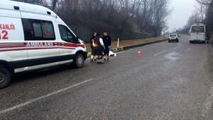 Zonguldakta minibüsün çarptığı yaya öldü