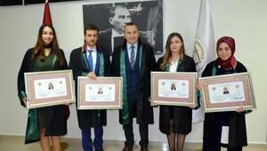 Çanakkalede yeni avukatlar için tören düzenlendi