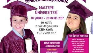 Maltepe Çocuk Üniversitesi ön kayıtları başladı