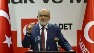 Saadet Partisi: Anayasa değişikliği teklifinin mevcut haline hayır oyu veririz