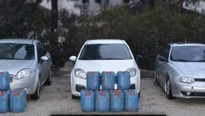 Edirne'de 650 litre asit anhidrit ele geçirildi