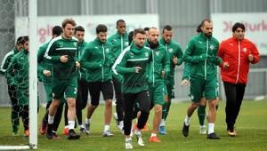Bursaspor, Adanaspor maçı hazırlıklarına başladı