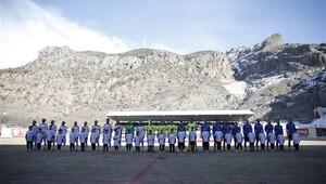 Gümüşhanespor - Trabzonspor maçını oradan takip ettiler