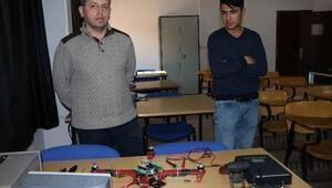 Besnide, üniversiteliler drone üretiyor