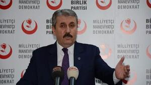 Destici: Başkanlık sistemi ve anayasa değişikliğinde helal bir Türkiye istiyoruz
