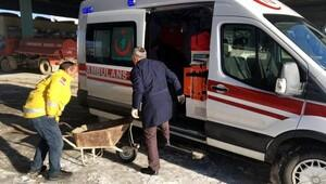 Ambulansla kum taşımaya soruşturma