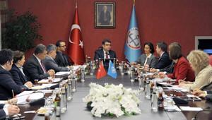 Milli Eğitim Bakan Yardımcısı Erdem, UNICEF heyetini kabul etti