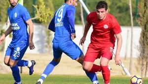 Antalyaspor, antrenman maçını kazandı