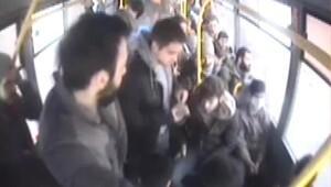 Otobüste çocuğum hasta diye ağlayarak yolcuları dolandırdı
