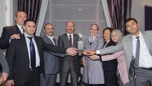 En iyi belediye ödülü verildi