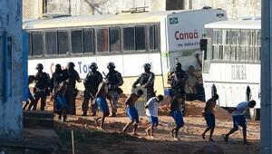 Brezilyada isyan çıkan cezaevine müdahale