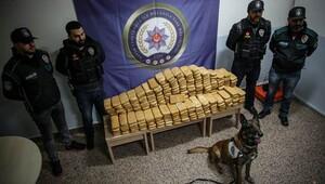 Alfa 162 kilo eroin yakaladı