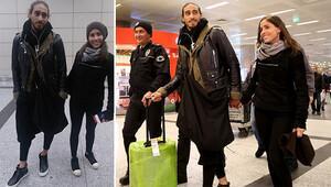 Trabzonsporun yeni transferi Caceres İstanbula geldi
