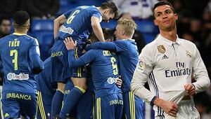Real Madride bir darbe de Celta Vigodan