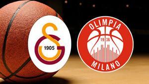 Olimpia Milano Galatasaray Odeabank maçı ne zaman saat kaçta, hangi kanalda