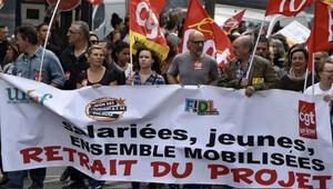 Fransa'da geçen yıl 801 kez grev yapıldı