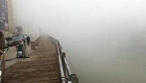Hatayda uçak seferlerine sis engeli