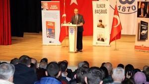 Başbuğ, Bigada Atatürk konulu söyleşiye katıldı