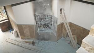 Elektrik panosunda yangın çıktı
