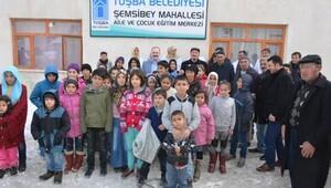 Tuşba Belediyesi Aile ve Çocuk Eğitim Merkezi açtı