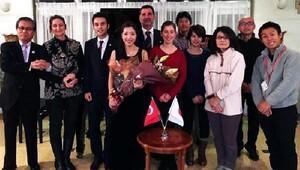 Japon gelinden Ertuğrulun Kahramanları konseri