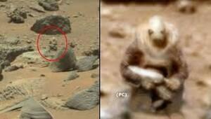 Marstan Dünyaya gelen şoke eden görüntü