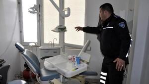Suriyelilerin ruhsatsız sağlık merkezine baskın