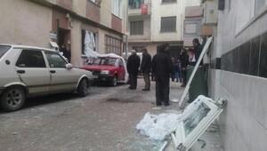 Bursada doğalgaz kaçağı patlaması: 1 yaralı