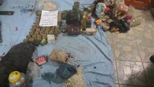 Çukurcadaki operasyonda PKKya ait 3 sığınak bulundu