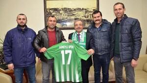 Amatör Futbol Kulüplerinden Başkan Özacar'a ziyaret