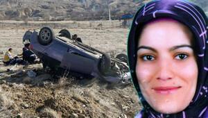 Kuvözdeki bebeğini emzirmeye giderken kazada öldü