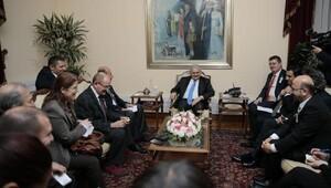 Başbakan Binali Yıldırım, sın kuruluşlarının Ankara temsilcileri ile görüştü