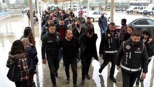Pervaneler çetesine 19 tutuklama