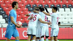 Gaziantepspor 2-0 Osmanlıspor