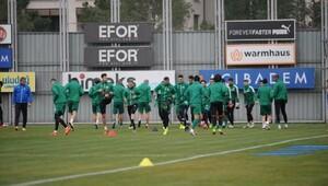 Bursaspor, Adanaspor maçı hazırlıklarını sürdürüyor