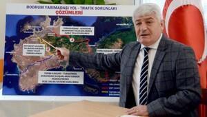 AK Parti Bodrumdan ilçedeki trafik sorununa çözüm önerisi
