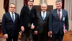 Ayvacık Belediye Başkanı Şahin, Başbakan Yıldırıma İlçe halkının taleplerini iletti