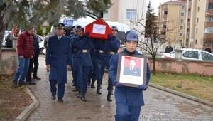 Bişkekte düşen kargo uçağının kaptan pilotu için Yenişehir'de tören